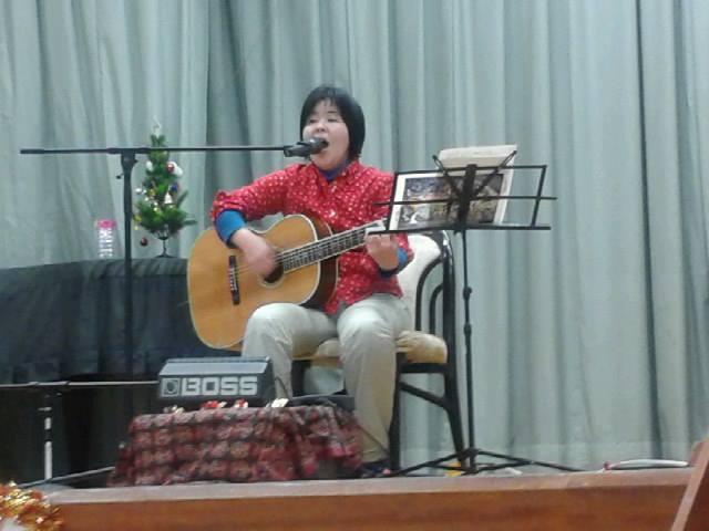 大城光恵さんのクリスマスソング♪